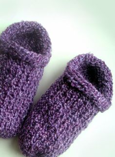 loomknittingdesigns.com: Scuffie Slippers