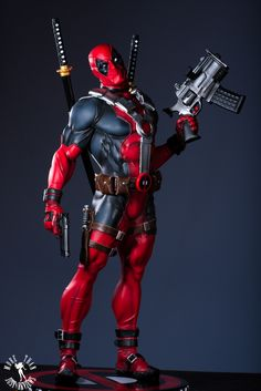 SIDESHOW COLLECTIBLES DEADPOOL SIDESHOW EXCLUSIVE PREMIUM FORMAT FIGURE REVIEW