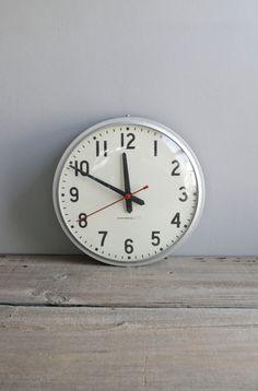 industrial school clock