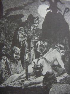 Buch Hexerei und Schwarze Kunst, 1979 Aldus Books, London