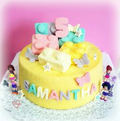 Loving Creations for You: 'Lego Friends' Soy Milk Chiffon Cake (Non-reduced ...