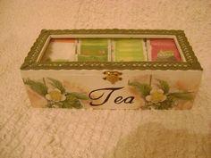tea box decupage