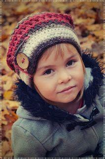 bandorka: Dámská homelesska Crochet Baby Hats, Knit Crochet, Couture, Sewing, Knitting, Bands, Ideas, Crochet Cap, Caps Hats
