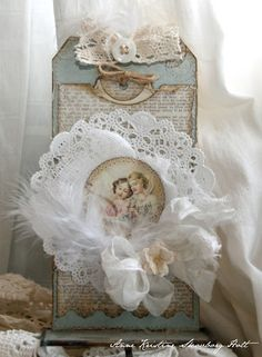 Gorgeous Vintage Tag