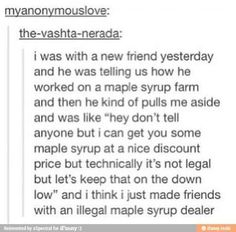I don't wanna brag but I'm kinda a maple syrup heiress lol Stupid Funny, The Funny, Hilarious, Funny Stuff, Random Stuff, Funny Things, Stupid Stuff, Funny Life, Stupid Memes