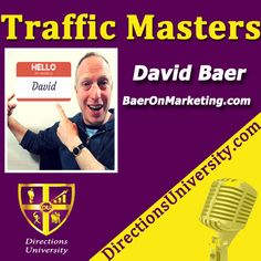So youunderstand that today's economy has moved online, but your not so sure where to invest your time or money?David Baer has spent nearly two decades as a promoter and marketer, working in industries ranging …