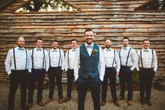 Waistcoat Bow Tie Braces Groom Groomsmen Style Outfit Powder Blue Country Rustic Charm Wedding https://photography34.co.uk/