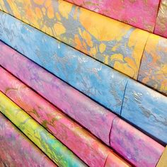 Our gorgeous pastel marbled paper ladder! #pastel #marbled #TPPpaperladder #abmlifeiscolorful #dsrainbow #paperlove #diy #craft #dstexture #myunicornlife #thepaperplace