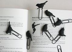Unos puntos de libro muy originales. ¿Echarán a volar?