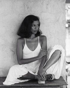 Bianca Jagger by Patrick Lichfield - 1976