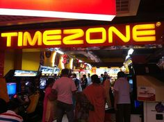 The crowds buzzing to Timezone at the Mid-night sale