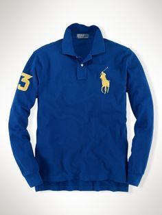 Custom Long-Sleeved Big Pony - Polo Ralph Lauren Custom-Fit  - RalphLauren.com