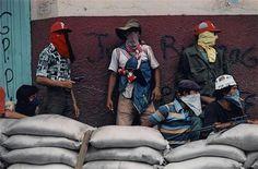 Awaiting Counterattack by the National Guard in Matagalpa, Nicaragua