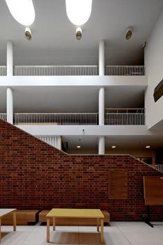 Jyvaskyla University by Alvar Aalto, Jyvaskyla, Finland - (1953-1959)