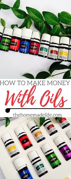 Learn how to make money selling Young Living Essential Oils & find out if this is a good affiliate product to promote on your blog! Included is a $25 off rebate to start your own home-based business. http://www.thehomemadelife.com/how-to-make-money-selling-young-living-essential-oils/