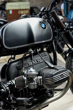 #BMW #Motorrad #Motorrad #KiWellenmotoren - #BMW #KiWellenmotoren #motorrad Bmw Cafe Racer, Moto Cafe, Cafe Racer Motorcycle, Motorcycle Design, Bmw Scrambler, Bmw Boxer, Bmw Motorbikes, Cool Motorcycles, Vintage Motorcycles
