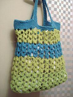 Marina Bag pattern on Ravelry