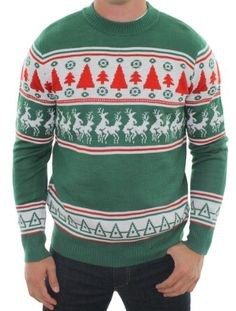 Ugly Christmas Sweater - Reindeer Conga Line Sweater by Tipsy Elves (M) Tipsy Elves,http://www.amazon.com/dp/B005RRB2EY/ref=cm_sw_r_pi_dp_JK2Rsb14N8YP2J0C