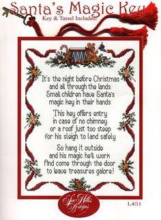 No chimney no problem just get a magic santa claus key santa just get a magic santa claus key santa letter template letter templates and poem spiritdancerdesigns Choice Image