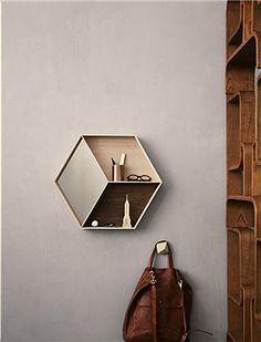 spiegel mit ablagefläche
