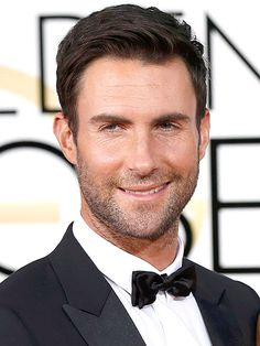 "The Best Beards at the Golden Globes | ADAM LEVINE  | The former Sexiest Man Alive still holds the ""sexiest scruff around"" title."