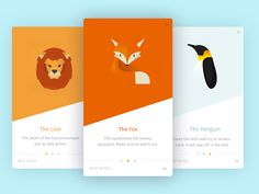 Animals Collective by Al Power #Design Popular #Dribbble #shots