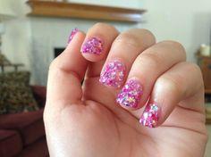 Rockstar acrylic nails