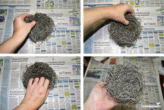 make a bird nest - Google Search
