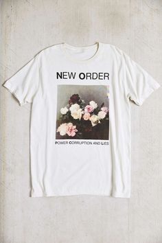 0b49edf155d New Order Tee. Urban OutfittersGirly ...