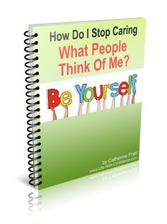 Do you find that you care too much what others think of you or are you constantly seeking approval? With a quick 3 step process you can easily build your confidence and leave this habit in the past.