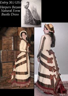 *Amazing* Victorian clothing, made to order by #WaistedEfforts