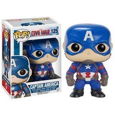 Marvel Pop! Vinyl Figure Captain America (Captain America: Civil War)