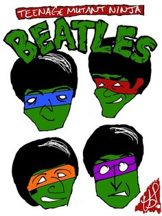 TEENAGE MUTANT NINJA BEATLES
