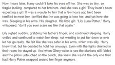 hp next generation part 2 - Harry, Ginny, Lily Luna Potter