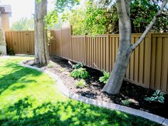 Trex® fencing is an eco-friendly composite fencing made from an innovative blend of recycled wood and plastic. As one of the largest plastic recyclers in the U., Trex saves 400 million pounds of plastic and wood from landfills each year. Trex Fencing, Composite Fencing, Backyard Fences, Backyard Landscaping, Fences Alternative, Fence Prices, Privacy Fences, Healthy Environment, Wood Vinyl
