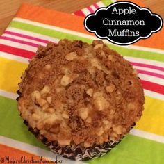 Homey and amazing, Apple Cinnamon Muffins are a wonderful way to start your day. These muffins are bakery style, with a wonderful crumb topping