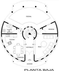 casa circular - Buscar con Google