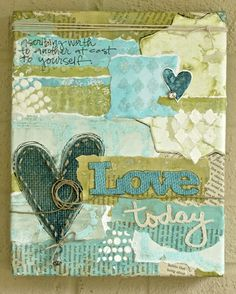 Mixed Media Techniques with Sue Carroll - painting on burlap - tattered angels high impact paint - stands up to burlap - mixed media paint - mixed media techniques.