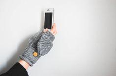 Armstulpen mit Fingerkappe-4