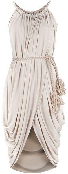 vestido romano.