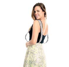 Falda con tirantes. Diseñado y producido en España.