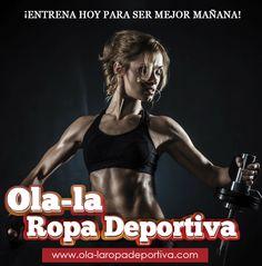 ¡ENTRENA HOY PARA SER MEJOR MAÑANA!  http://www.ola-laropadeportiva.com/  #Felizfindesemana #Bogota #Colombia #Deporte