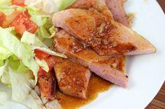 Ham Steak with Red-Eye Gravy