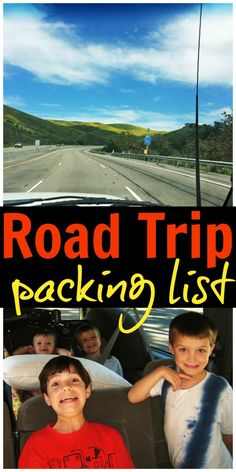Road Trip Packing List | Life as Mom  Ready to hit the highway? Be sure that you've packed the basics for kid comfort with this road trip packing list.   http://lifeasmom.com/what-to-pack-for-road-trips/