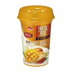 贅沢倶楽部 <完熟マンゴーミルク> - 食@新製品 - 『新製品』から食の今と明日を見る!