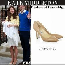 Kate's shoes - Nude Jimmy Choos