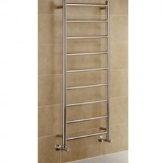 Crafted from top quality materials, this Chester 1200 x 600 Heated Towel Rail is a durable and hard-wearing addition to your bathroom. With spacious chrome bars to hang several towels from, this is perfect for those busy family bathrooms, ensuing there ar Electric Towel Rail, Chrome Towel Rail, Stainless Steel Towel Rail, Bathroom Radiators, Towel Radiator, Towel Warmer, Heated Towel Rail, Heating Systems, Amazing Bathrooms