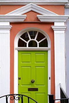 15 Green Front Door Designs That Inspire | Shelterness
