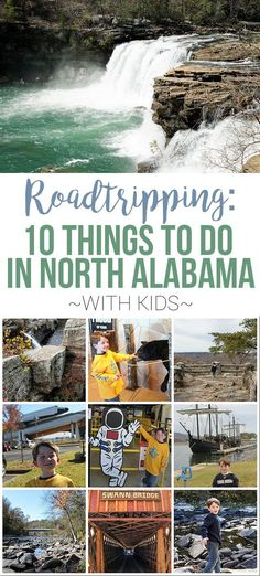 Find the top 10 most fun things to do with kids near North Alabama- kid-friendly places to go and activities from Huntsville, Decatur and beyond Decatur Alabama, Huntsville Alabama, Birmingham Alabama, Weekend Trips, Day Trips, Places To Travel, Places To See, Alabama Vacation, Eagles