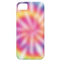 Retro Tie Dye Pattern iPhone 5 Cases